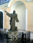 Franziskus Statue