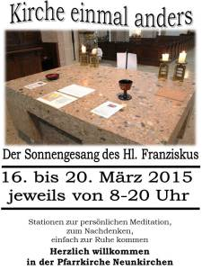 Plakat Offene Kirche 2015