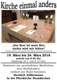 Plakat Offene Kirche 2018