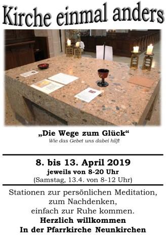Plakat Offene Kirche 2019