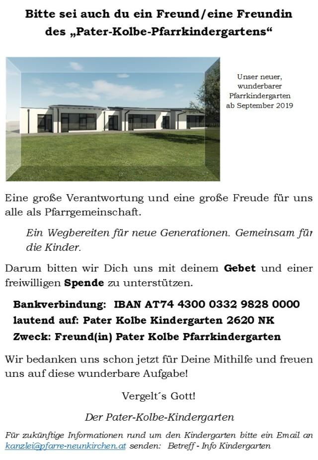 Freunde Pater Kolbe Kindergarten